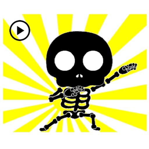 Animated Dancing Skeleton