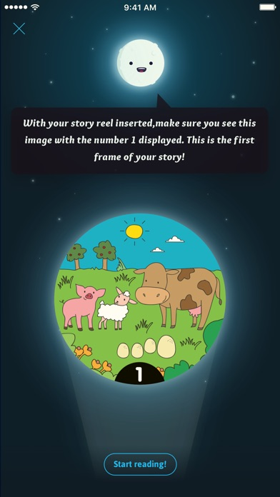 Moonlite Storytime Projector screenshot 4