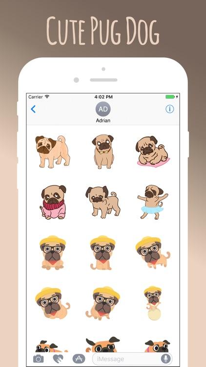 Pug Cute Sweetheart screenshot-3