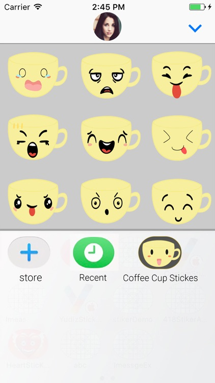Coffee Cup : Animated Stickers screenshot-3