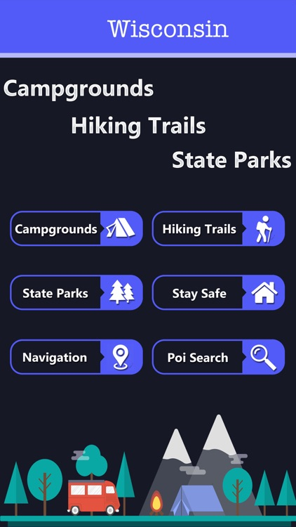 Wisconsin Camping&State Parks screenshot-1