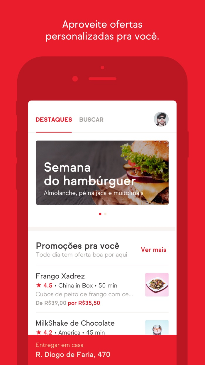 iFood - Delivery de Comida Screenshot