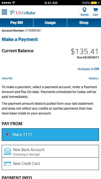U.S. Cellular – My Account screenshot-3