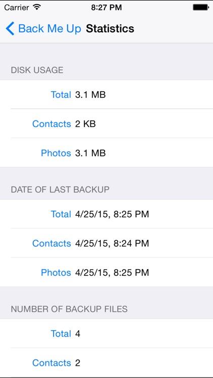 BackMeUp screenshot-4