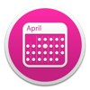 MonthlyCal - A colorful monthly calendar widget