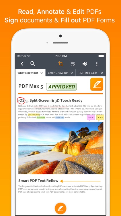 PDF Max - #1 PDF Reader App screenshot-0