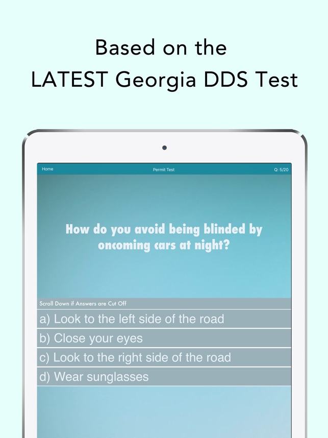 Georgia Driving Test Prep on the App Store