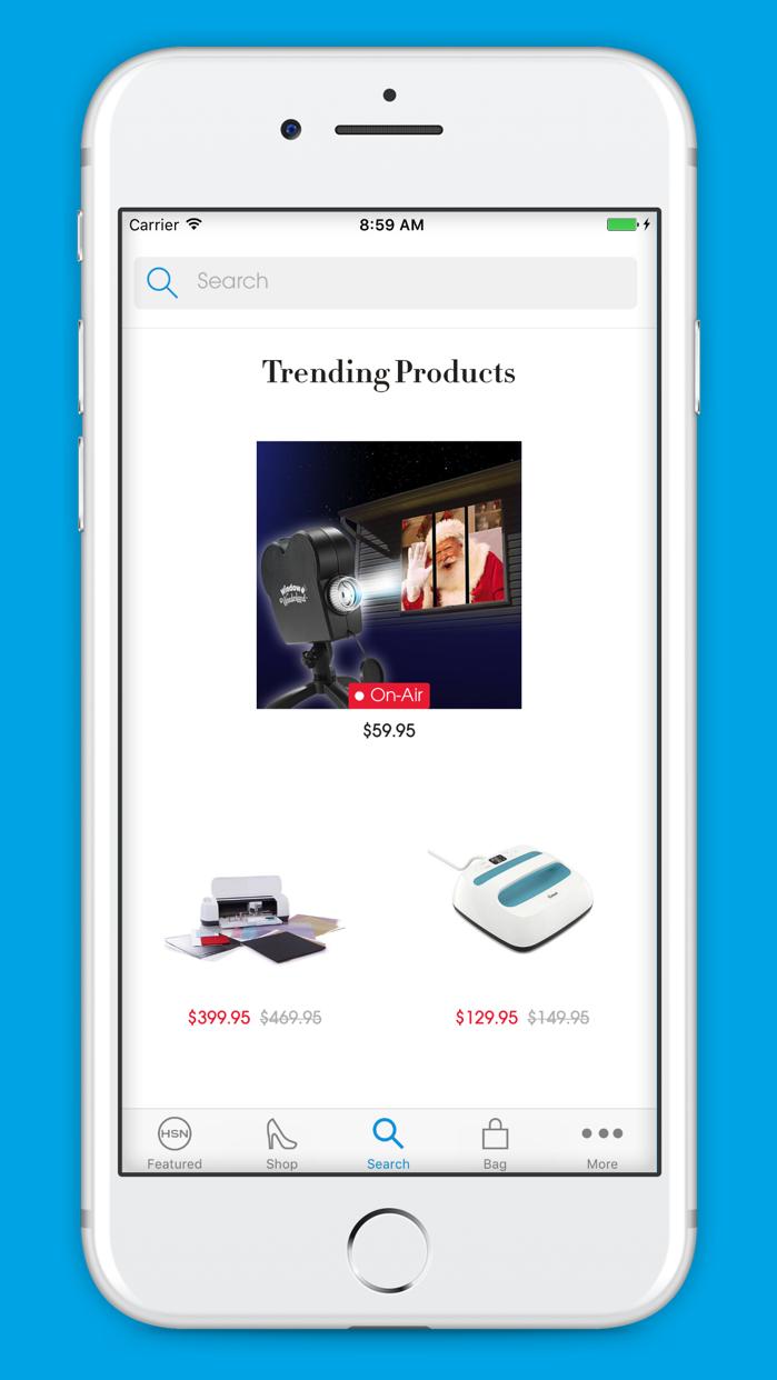 HSN Shopping App Screenshot