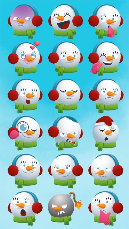 Snowmoji - Snowman Emoji screenshot-3