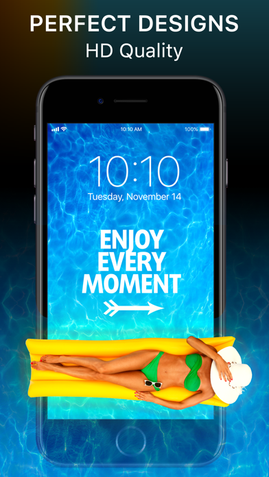 Screenshots of Wallpapers Live - Custom Themes, Lock Screens & Backgrounds for iPhone