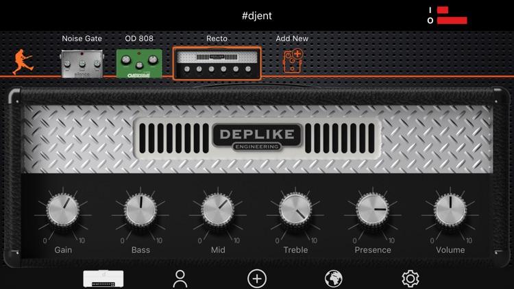 Deplike - Guitar Effects & Amp