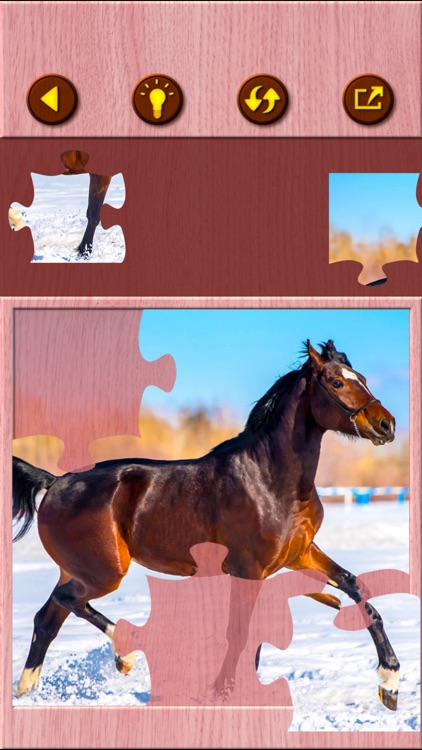 Horse Jigsaw Puzzle Games screenshot-3