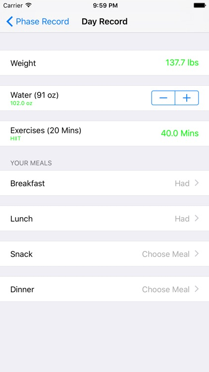 20/20 Diet For Your Life screenshot-3