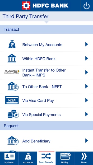 Screenshot for HDFC Bank Mobile App in Korea App Store