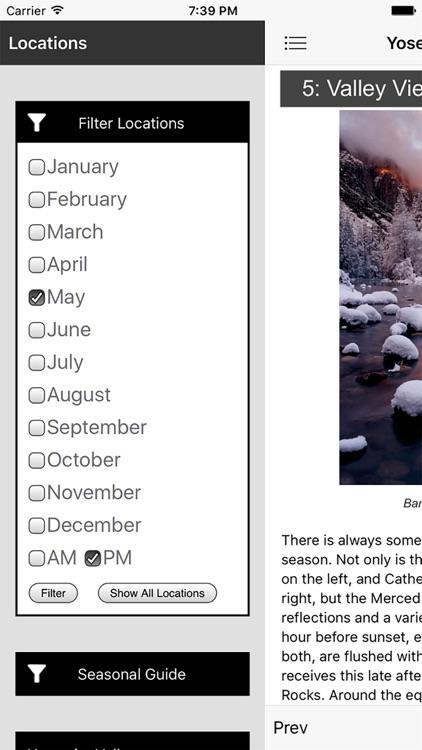 Yosemite Photographer's Guide screenshot-3