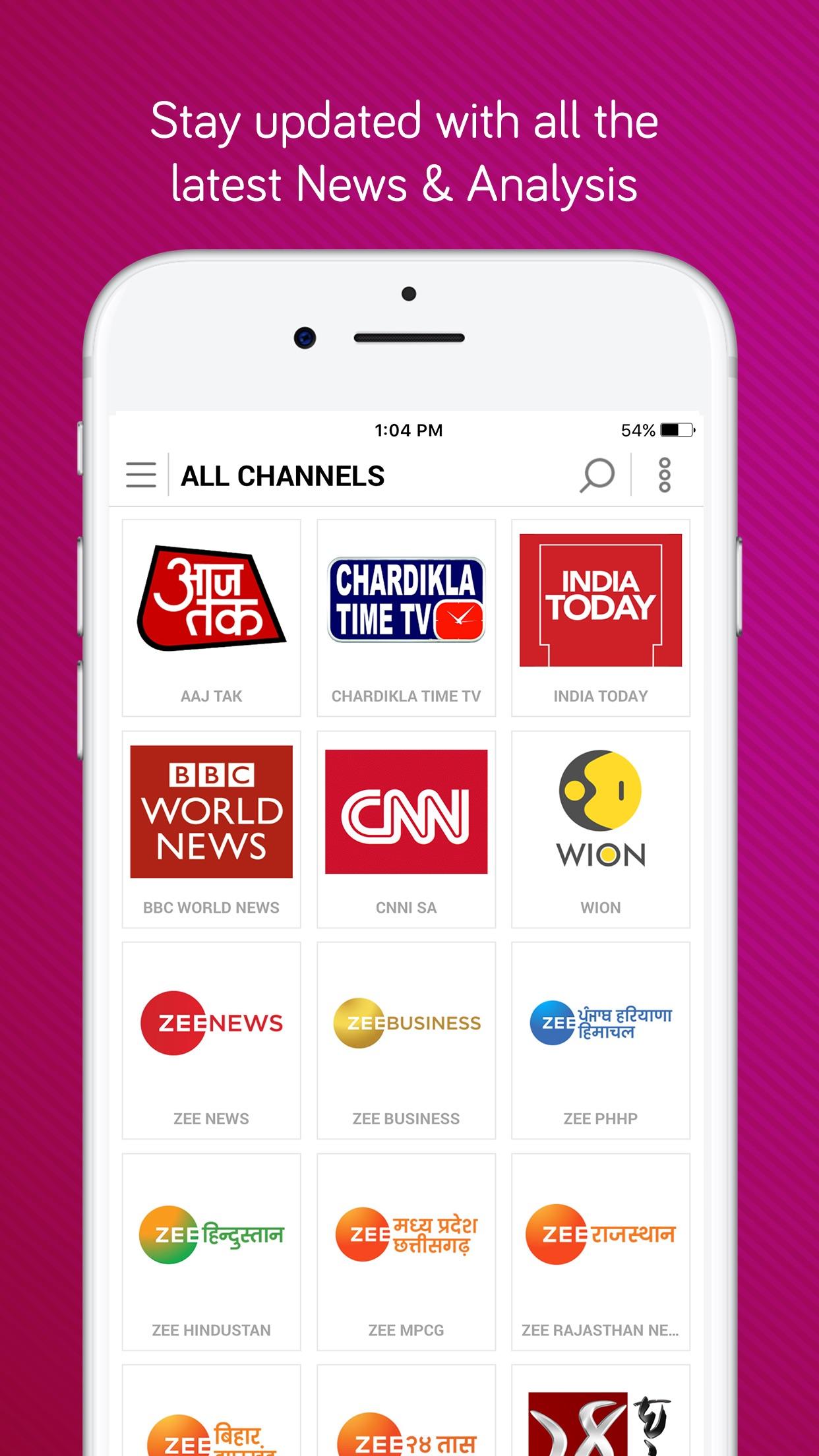 dittoTV: Live TV Shows & News Screenshot