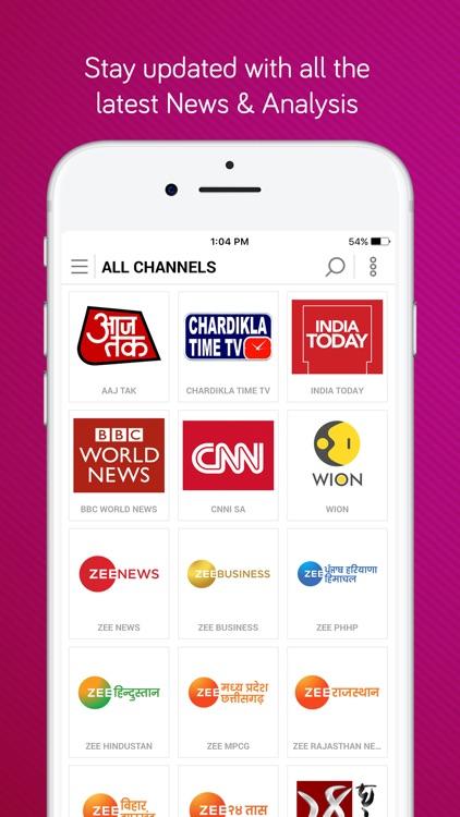 dittoTV: Live TV Shows & News