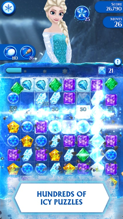 Frozen Free Fall screenshot-0