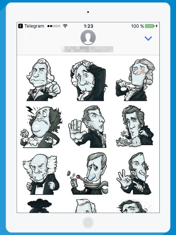 USA Presidents STiK Stickers screenshot 4