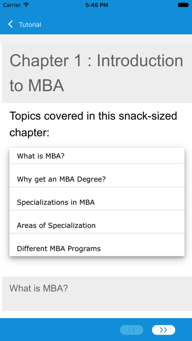Learn MBA and Accounting screenshot four