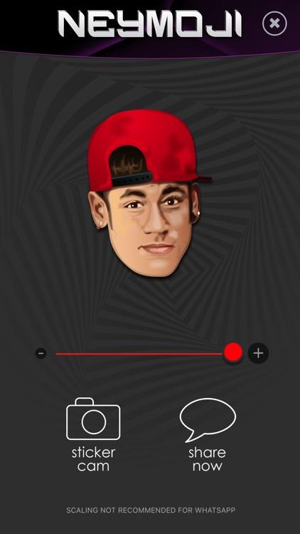 Neymoji - Official Neymar Stickers screenshot-4