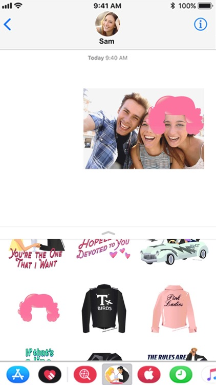 Official Grease Stickers