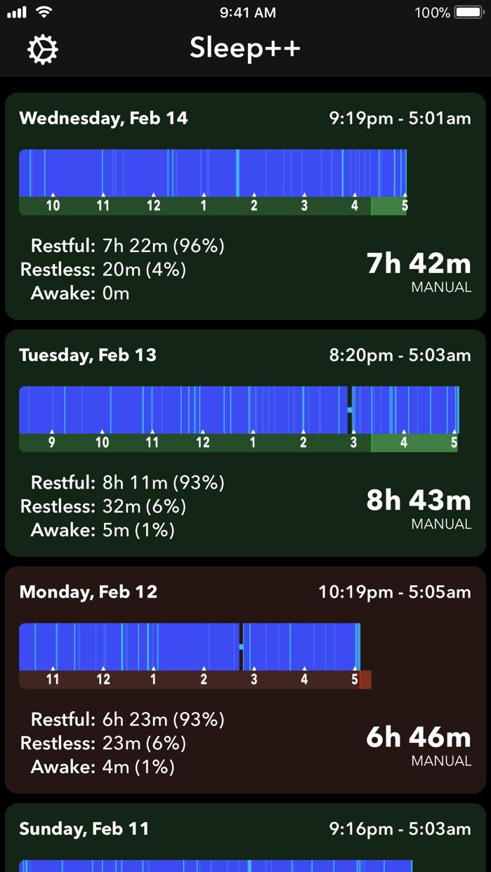Sleep++ Screenshot