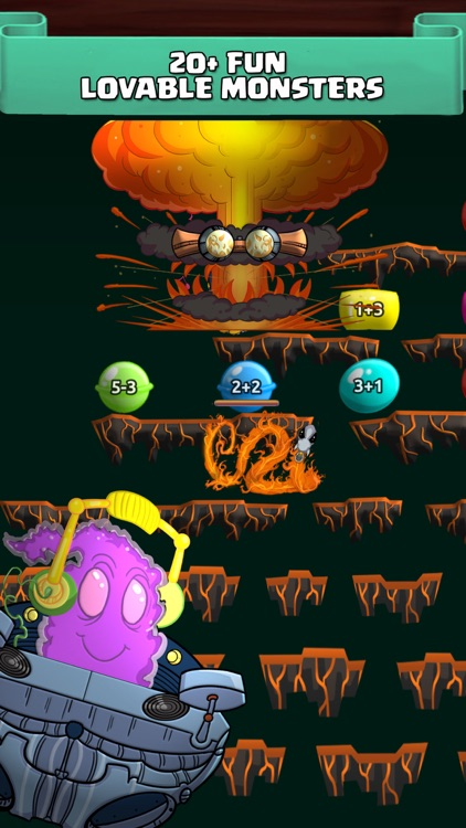 Monster Math For Kids - Games screenshot-3
