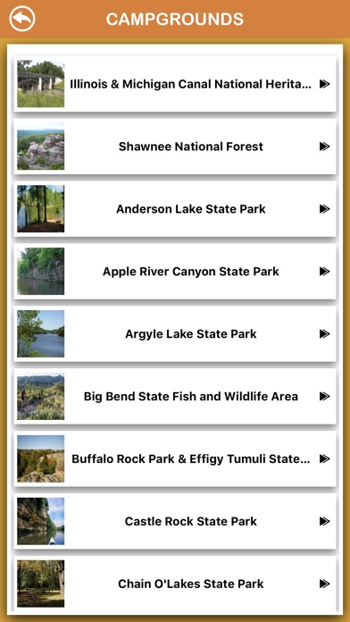Screenshot for Illinois National Parks in Spain App Store