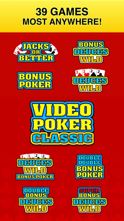 Video Poker Classic - 39 Games screenshot-2
