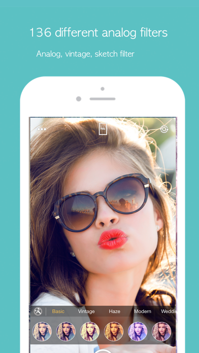 BeautyCamera -Analog Filter by JunSoft Mobile Inc  (iOS