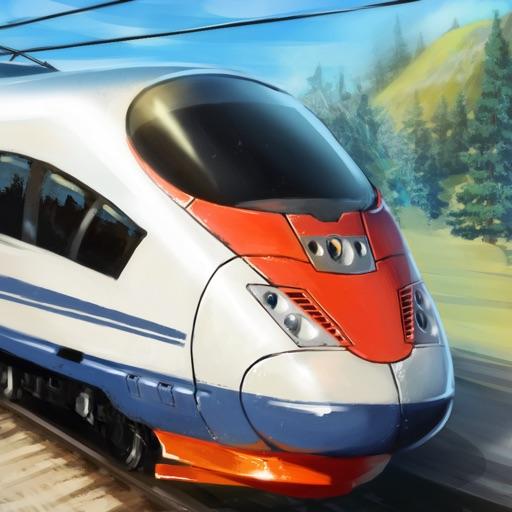Скоростные Поезда 3D
