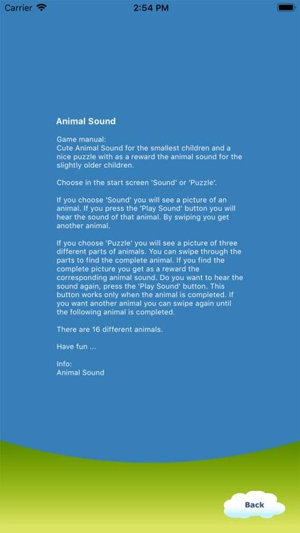 Animal Sound for Kids is fun screenshot-3