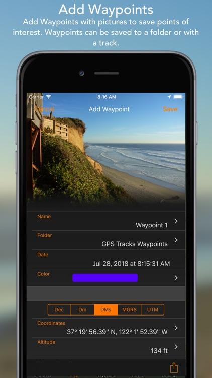 GPS Tracks screenshot-4