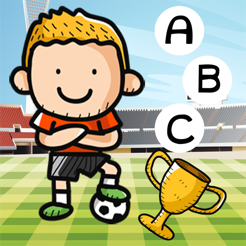 ABC Animated Soccer Cup 2014 Spelling Free Game for School Kids! Playing Fun For Small Children To L...