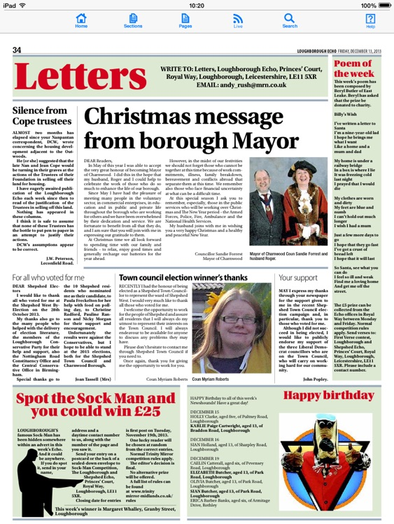 Loughborough Echo newspaper screenshot-3