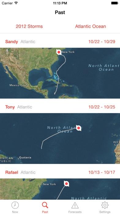 My Hurricane Tracker & Alerts Screenshot