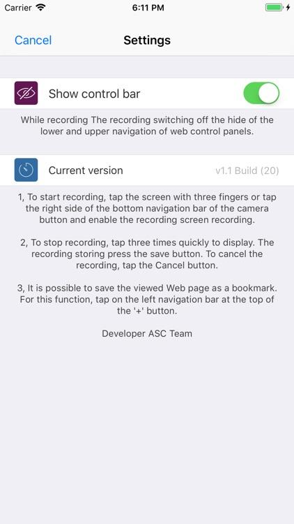Web Page Recorder screenshot-6