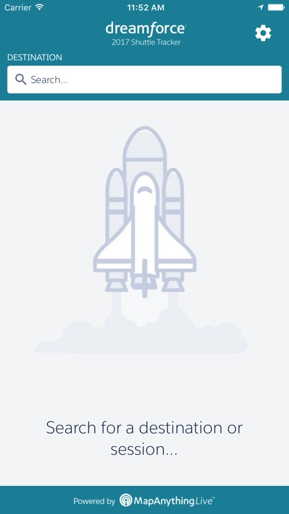 Dreamforce Shuttle Tracker