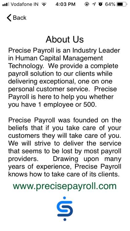 Precise Paycheck screenshot-7