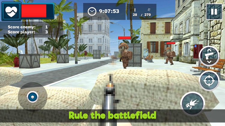 Mini Army Men: Soldier Shooter
