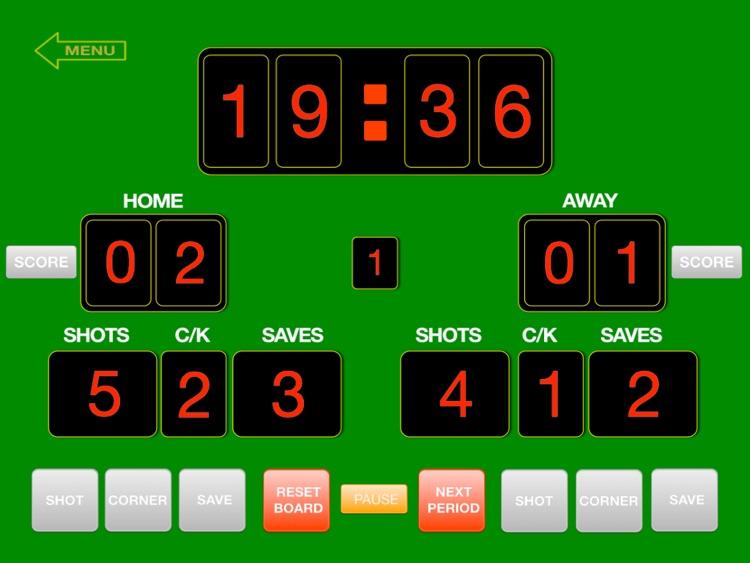 ScoreKeeper ScoreBoard screenshot-4