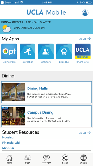 UCLA Mobile on the App Store