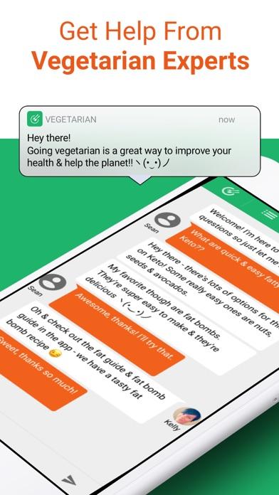 Vegetarian Meal Plan Recipes Screenshot
