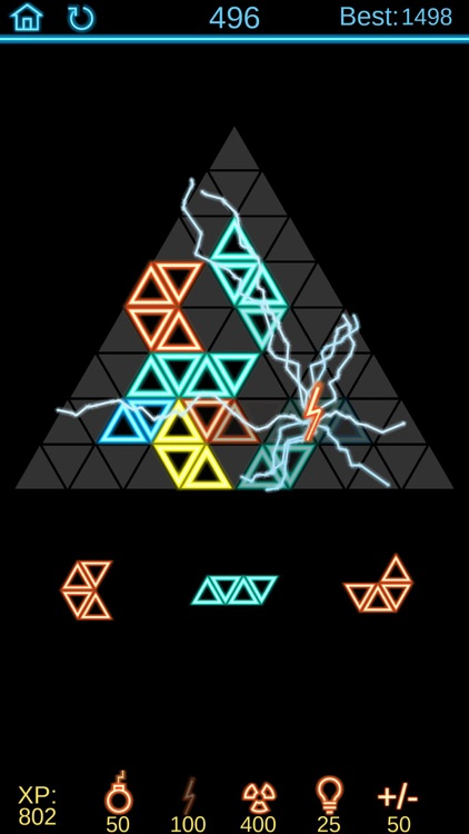 Neon Poly - Hexa Puzzle Game screenshot-2
