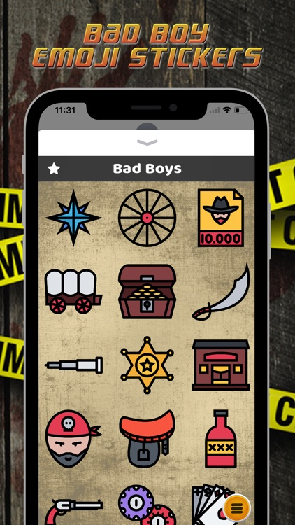 Bad Boy Emoji Stickers