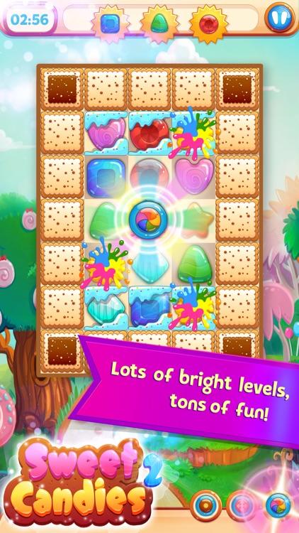 Sweet Candies 2 - Huge Match 3 screenshot-3