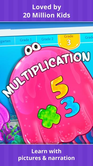 Grade K-5 Math Learning Games app image