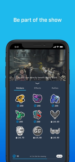 Mixer Interactive Streaming On The App Store