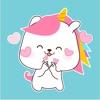 Bunnycorn Animated Stickers